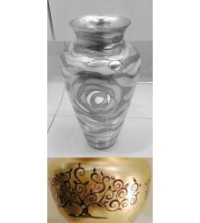 Vase Dekor ALBERO H 33cm, D 20cm, 0417.26.Mu